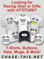 Racing Apparel, T-Shirts, Buttons, Hats, Mugs