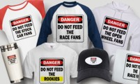 DO NOT FEED THE RACE FANS PRODUCTS